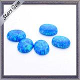 Várias cores Cabochon Oval Pedra Opal sintético