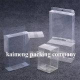 Boîte cadeau en PVC transparent pliable et de bonne qualité avec impression logo (boite cadeau en PVC)