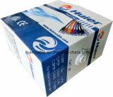 Cer RoHS Cat5e Vernetzungs-Kabel mit Plattfisch-Durchlauf