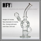연기가 나는 다이아몬드 유리제 벌집 석유 굴착 장치를 위한 유리제 수관으로 만드는 Hfy 유리