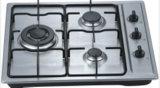 La griglia esterna della fresa del gas degli apparecchi di cucina con la stufa di gas del forno parte le frese delle griglie
