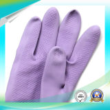 Перчатки защитного латекса работая для моя вещества с высоким качеством