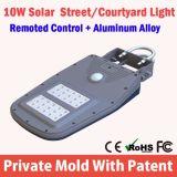 lista de preço solar da luz de rua do diodo emissor de luz do sensor de movimento do poder superior 12watt