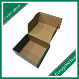 포장 상자를 인쇄하는 라임 그린색