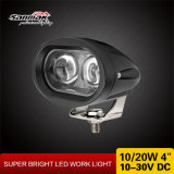 "4"" de alta potencia 10W 5D Carretilla elevadora luz LED de trabajo"