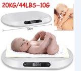 Hostweigh con la escala de bebé de medición de Digitaces de la cinta de la función de la música