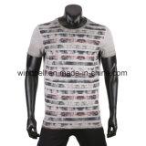 Nuova maglietta di disegno per gli uomini con lavata sporca
