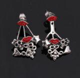 Monili di cristallo dell'orecchino di Dsigns dell'acciaio inossidabile di modo nuovi