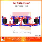 De Opschorting van de Lucht van de Lente van het Blad van Yuancheng van de Vrachtwagen van de stortplaats