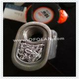 Специальным связанная вязанием крючком ячеистая сеть корабля сплетенная никелем