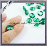 総合的なNano緑か丸型のスピネル耐熱性宝石用原石