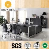 현대 가죽 MDF 사무실 책상 사무실 테이블 (V1)