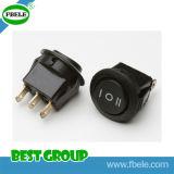 On-off-on 3p 20A 12VDC; 10A 125VAC Interruptor Automotivo, Interruptor Basculante,