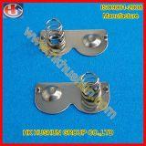 Contact de ressort de batterie d'estampage en métal pour le chargeur (HS-BA-010)