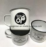 창조적인 사기질 컵 스테인리스 철 우유 컵 야영 컵 12oz 8cm 400ml