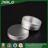 25g Silver Aluminium Tin Crème de soins de la peau / Baume à lèvres / Cire de cheveux Emballage Jumelage en aluminium avec couvercle à vis