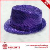 Chapéu de palha Shining da forma com os Sequins para o partido e a promoção (CG203)