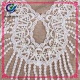 Индийский шнурок ворота ткани вышивки шнурка