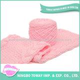 Écharpe tricotée chaude personnalisée de laines de femmes de l'hiver de polyester