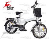 """白いSpokewheels 20の"""" 250W FoldableポータブルEの自転車(JSL039X-12)"""