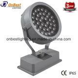 Lumière de jardin d'IP65 36W RVB DEL pour le projet d'horizontal