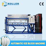 Machines van het Blok van het Ijs van Koller 2000kg de Automatische zonder het Water van de Pekel voor Menselijke Consumptie