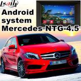 Relação video Android do sistema de navegação do GPS para Mercedes-Benz um comando Audio20 de Ntg 4.5 da classe