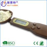 Маштаб ложки кухни маштаба ложки кофеего цифров измеряя