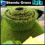 grama artificial do jardim da baixa densidade 120stitch com altura de 30mm