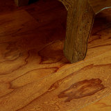 Pavimento flutuante de madeira sólida para sala de estar