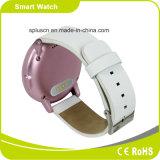 Androind及びI高級なOSののBluetooth 4.0 Mtk2502 Raditionalの腕時計の出現電話歩数計Siri Smartwatch