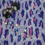 AZO-freies Drucken-blaue Blumen-Schale für Frauen-Form-Zusatzgeräten-Schal