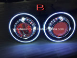 Hot Sale 35 W HID Starlights avec diable Demon Eye LED Angel Halo pour Jeep Headlighs