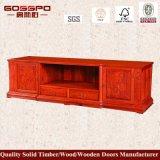 Шкаф стойки TV самой последней новой модели конструкции деревянный/TV (GSP13-002)
