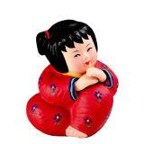 Da argila Handmade ideal da argila do presente dos ornamento dos ofícios da boneca de China boneca cerâmica para o bebê ideal 1