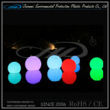 색깔 변화 점화를 가진 조명한 LED 공을 방수 처리하십시오