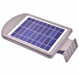 太陽電池パネルが付いている屋外の太陽LEDの通りの庭ライト