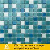 Mezcla de azul y verde de piscina mosaico de vidrio