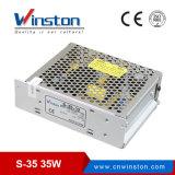 A C.A. 220V a C.C. 5V 12V 24V 36V 35W escolhe a fonte de alimentação SMPS do interruptor da saída (S-35)