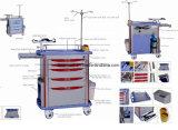 Trole médico móvel do aço inoxidável do hospital