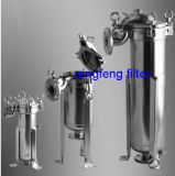 304 e 316 de aço inoxidável do alojamento do filtro de cartucho sanitárias