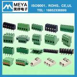 PCBの端子ブロック5.0mmの5.08mm男性ターミナルコネクターの二重列Pin 2edgrh-5.0/5.08