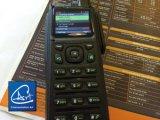 Émetteur récepteur par radio tenu dans la main de combat de Digitals et d'Analgo dans la bande de VHF