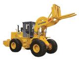 판매를 위한 28ton TM828 포크리프트 바퀴 로더 대리석 또는 화강암 구획 다루개 기계