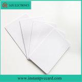 Tarjeta imprimible del PVC de la inyección de tinta de la talla Cr80 para la tarjeta de visita