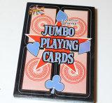 Cartões de jogo de papel de /Poker dos cartões de jogo do tamanho enorme (105*165mm)