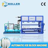 Máquina directo evaporada comestible del bloque de hielo de 3 toneladas de Designe de la humanización