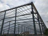 Almacén prefabricado de la estructura de acero del marco porta