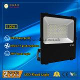 Lámpara de inundación al aire libre IP65 100W LED con el LED de Philips
