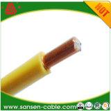 IEC60502 baja emisión de humos retardante de llama H07V-R2 de PVC de 6mm cable de la construcción